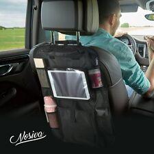 Organizador De Asiento Trasero Coche Multi Bolsillo Viaje Almacenamiento y Pantalla Táctil Soporte para iPad