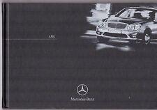 Mercedes-Benz AMG 2002-03 Folleto de mercado del Reino Unido C32 CLK55 SLK32 E55 S55 CL55 SL55
