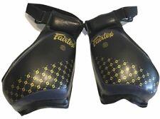 Fairtex Compact Thigh Pads - Tp4 - Black & Blue
