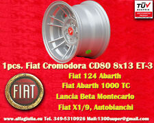 1 Cerchio Fiat Cromodora CD66 8x13 4x98 N.1 Wheel Felge llanta jante Lancia TUV