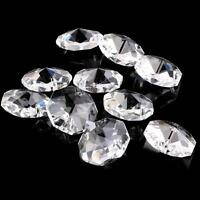 Transparent Beads 22MM Crystal Beads Chandelier Parts Prism Wedding Decor