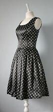 Rockabilly Satin Vintage Dresses for Women