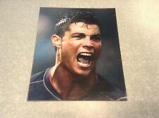 PHOTO star de football Ronaldo? sur plastique dos aimanté 30X24,5cm