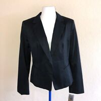 NEW NWT Merona From Target Black One Button Fitted Career Professional Blazer 6
