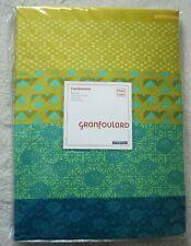 Bassetti AMARILLA Mako Satin KING DUVET COVER 230x220cm Emerald Floral RRP £129