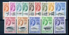 Tristan Da Cunha 1960 defin set fine MNH