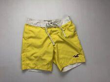HOLLISTER Swim Shorts - XS - Yellow - Great Condition - Men's