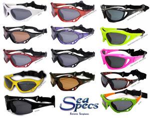 Sea Specs Polarized Sunglasses Stealth Iguana Surfing Polarised Seaspecs Jetski