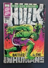 INCREDIBLE HULK KING-SIZE SPECIAL #1 • VG/FN OR BETTER • CLASSIC STERANKO COVER