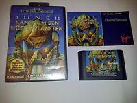 Dune II 2 Sega Mega Drive PAL Game Complete w/ Case and Manual T-70246-18 German