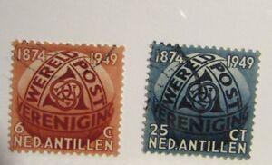 NETHERLANDS ANTILLES Sc# 206 207 Θ used  postage stamps, Fine +