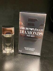 Armani Emporio Diamonds pour homme .14oz / 4ml NIB