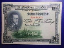BILLETE DE 100 PESETAS DE 1925 SERIE E