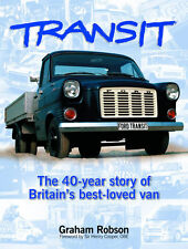 Ford Transit 40 years/Jahre (VE6 VE64 VE83 History Van Essex) Buch book RARE