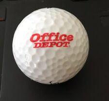 Office Depot Logo Golf Ball White Titleist Hp2 Distance Used