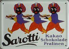 Sarotti Blechschilder bis 15 x 30 cm