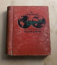 More details for british territories & world collection in a 1930's stamp album from selfridges