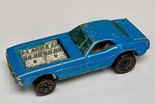 Hot Wheels Redline 1973 Baby Blue Show Off Enamel