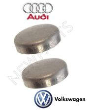 For Audi A6 A7 Quattro VW Pair Set of 2 Expansion Freeze Plugs 36mm Genuine