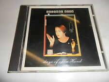 CD  Suzanne Vega - Days of Open Hand