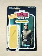 Vintage Star Wars Empire Strikes Back Imperial Commander Kenner Card Back 1980