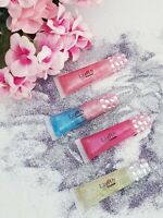 👄 (LOT OF 4) Lavish Glo ❤️ Flavored Lip Gloss ASSORTED FLAVORS Handcrafted!