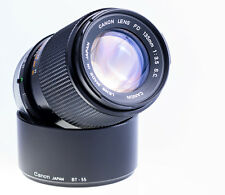 Canon FD 135 mm f 3,5 S . C . Getestet , Top Zustand SN 219886