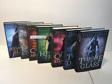 Sarah J. Maas Throne of Glass Series Seven Book Complete Hardcover Set 1-7 New