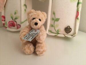 "Handmade Miniature Teddy Bear By Country Folk ""Fred"""