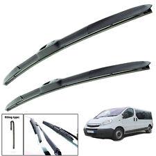 "Vauxhall Vivaro 2001-2013 hybrid wiper blades set of front 24""21"""