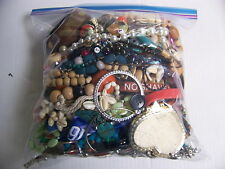 MIXED LOT OF JEWELRY NEW VINTAGE NECKLACES BRACELETS EARRINGS WATCHES PINS MORE
