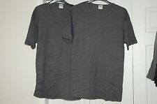 New 2 x EX Large Heatsaver Thermal Insulated Men's short sleeve Vest T Brushed