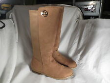 MICHAEL KORS EMMA LILY CAMEL SUEDE BOOTS TODDLER GIRLS SIZE 11