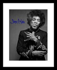 Jimi Hendrix 8x10 Signed Photo Print Music Rock Concert Autographed