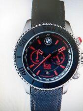 ICE Watch Quarzuhr BMW Motorsport Big Chrono, Leder, blau rot NEU UVP 249€ L