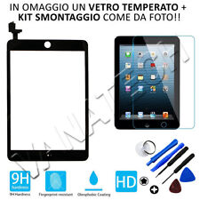 TOUCH SCREEN APPLE IPAD MINI 2 A1489 A1490 A1491 WiFi 3G VETRO NERO GLS 24/48H