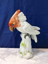 Meissen Collectible Porcelain Figurine Bird Cockatoo 77035/900100 Cacatua NEW
