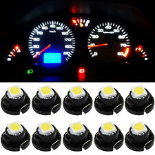 10pcs White T4.2 1SMD 1210 Instrument LED Light Bulb Neo Wedge Panel Gauges Lamp