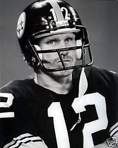 Terry Bradshaw - Steelers, 8x10 B&W photo