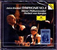 Herbert von KARAJAN: BRUCKNER Symphony No.8 Wiener Philharmoniker 2CD DG NEU OVP