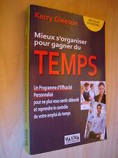 Gleeson Mieux s'organiser pour gagner du temps Programme efficacité personnalisé