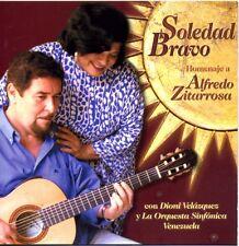 CD - SOLEDAD BRAVO - Homenaje a Alfredo Zitarrosa