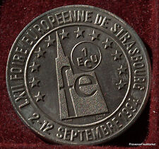 STRASBOURG 1   ECU  EURO  TEMPORAIRE DES VILLES frappe medaille 1994  1082A168