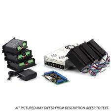 4-Axis NEMA23 CNC Kit (48V/ 7.3A/ 570 oz-in / KL-5056)