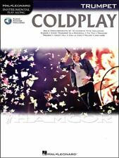 Coldplay Trumpet Instrumental Play-Along Music Book/Audio SAME DAY DISPATCH