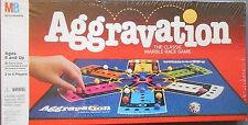 AGGRAVATION 1989 COMPLETE SEALED Family Marble Board Game Milton Bradley 4089