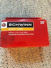 "New Schwinn Basic Tube 20"" Fits 20"" x 1.75"" - 2.125"" Bicycle Tires NIB"