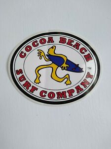 Cocoa Beach Surf Company Surf Shop Sticker/Decal
