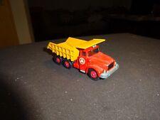 Matchbox K-19 vintage Scammel Tipper Truck 60ies Top