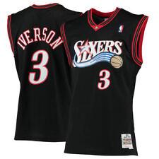Philadelphia 76ers Allen Iverson Mitchell Ness Hardwood Classic Jersey Large